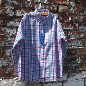 J. Bailey Roscoe Shirt button down NWT Size 6 Boys